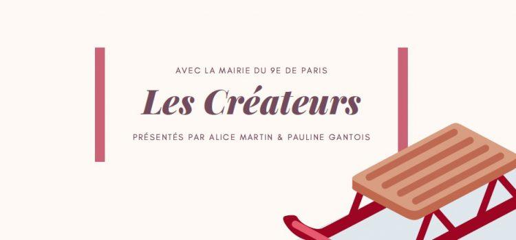 28/11 – 01/12/2019 – Noël des Créateurs – Mairie du 9ème